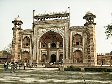 Agra, Agra Fort, Architecture, India, Travel