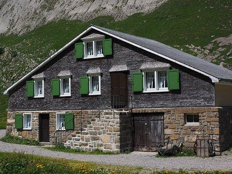 Alpe, Alm, Meglisalp, Bergdorf, Homes, Alpine Village