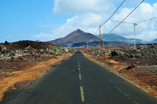 Ascension Island, Island, Hill, Lonely, Ascension