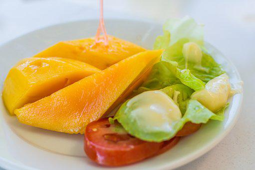 Mango, Fruit, Background, Food, Yellow, Fresh, Tropical