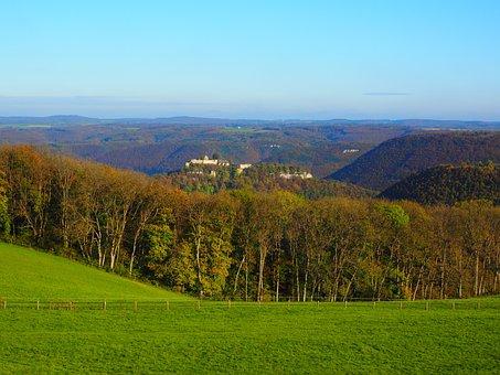 Swabian Alb, Outlook, Vision, Burg Hohenurach
