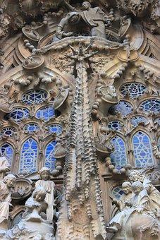 Sagrada Familia, Gaudí, Barcelona, Catalonia