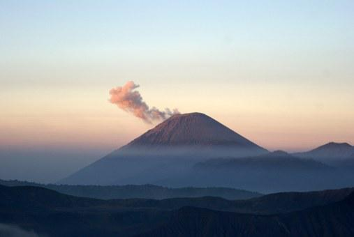 Volcano, Cloud Of Smoke, Indonesia, Bromo, Steam