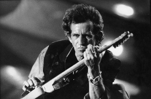 Keith Richards, The Rolling Stones, Concert