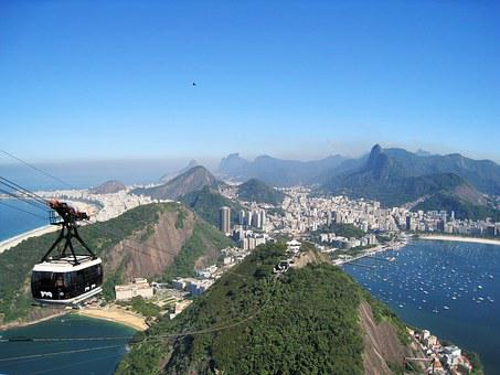Rio, View From Sugarloaf, Stunning, Corcovado