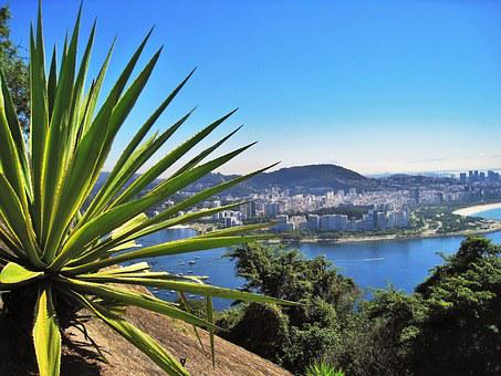View From Sugarloaf, Flamengo Beach, Flamengo Park