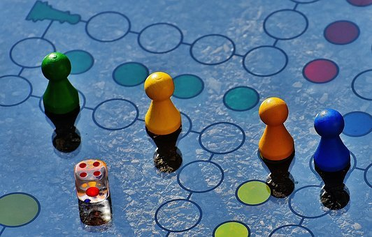 Not Ludo, Game Board, Glass, Cone, Game Characters