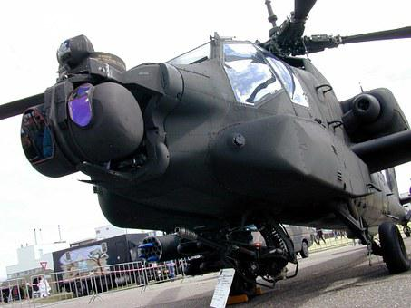 Gunship, Helicopter, Military, Flight, Aircraft