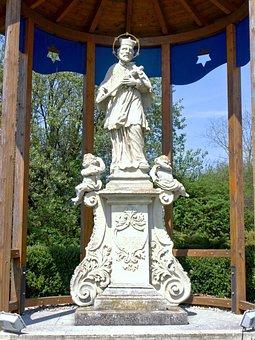 Pöchlarn, Hl Johannes Nepomuk, Statur, Sculpture