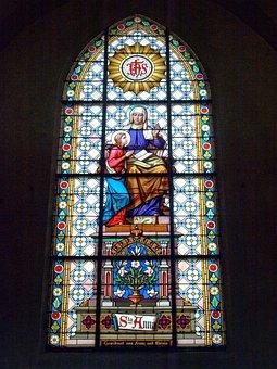 Ybbsitz, Hl Johannes, Stained Glass, Window, Church