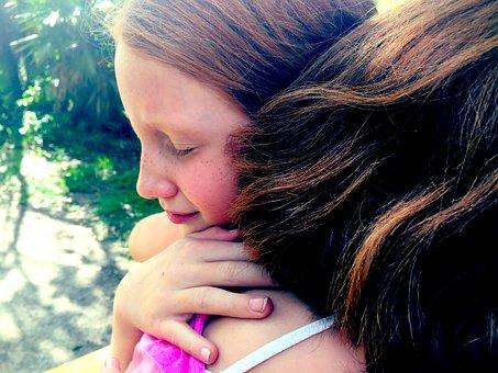 Hug, Grief, Sisters, Sad, Depression, Forgiveness