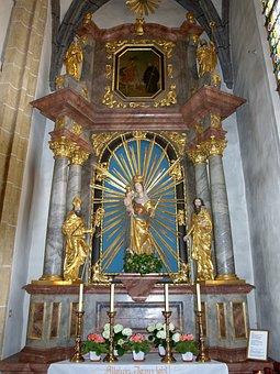 Ybbsitz, Hl Johannes, Church, Interior, Altar, Catholic