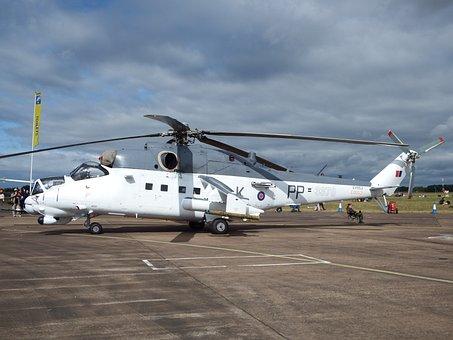 Mi-24, Hind Gunship, Helicopter, Czech Air Force