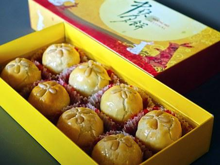 Moon Cake, Mid-autumn, Asian, Chinese, Festival
