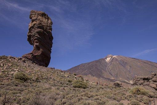 Mountains, Volcano, Canary Islands, Landscape, Teide