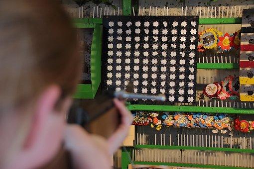 Year Market, Shooting Range, Objectives, Rifle, Target