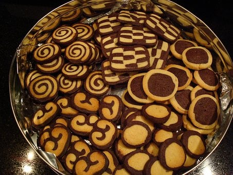 Pastries, Christmas, Cookie, Biscuit, Dough, Bake