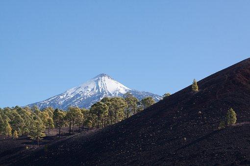 Teide, Volcano, Mountain, Summit, Pico Del Teide, Teyde