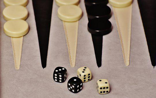 Backgammon, Play, Board Game, Games Suitcase