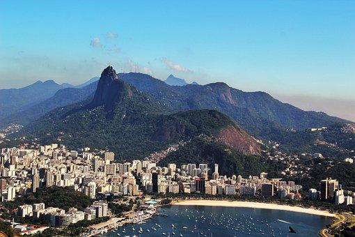 Rio De Janeiro, Views Of Corcovado, Stunning, Corcovado
