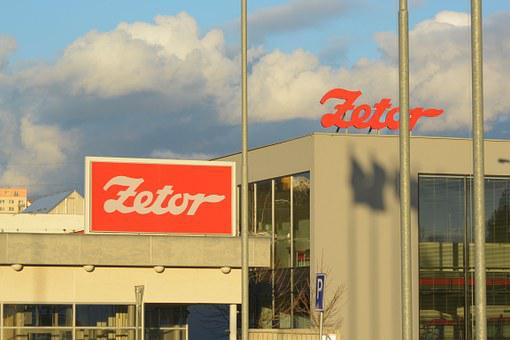 Zetor, Firm, Signs, Brno Czech Republic, Lisen