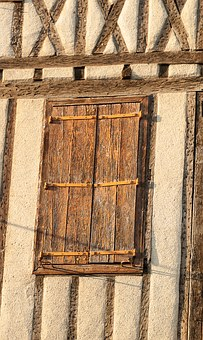 France, Mirepoix, Shutters, Facade, South Of France