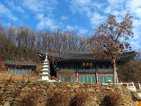 Section, Temple, Construction, Geukrakjeon