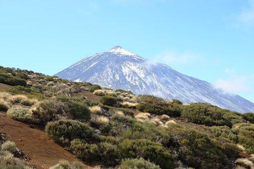 Tenerife, Teide, Volcano, Canary Islands, Nature
