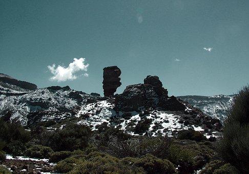 Tenerife, Teide, Landscape, Nature, Canary Islands, Sky