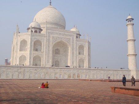 Taj Mahal, India, Icon, Architecture, Travel, Landmark