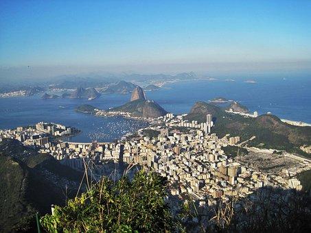 Rio De Janeiro, Views Of The Corcovado, Sugarloaf