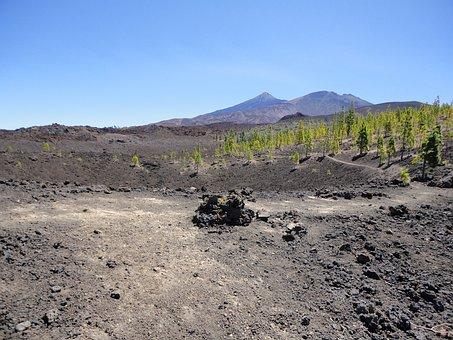 Teide, Tenerife, Volcano, El Teide, Spain
