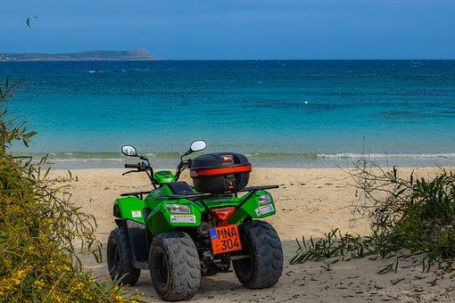 Buggy, Quad, Sand, Beach, Travel, Sea, Vacation, Island
