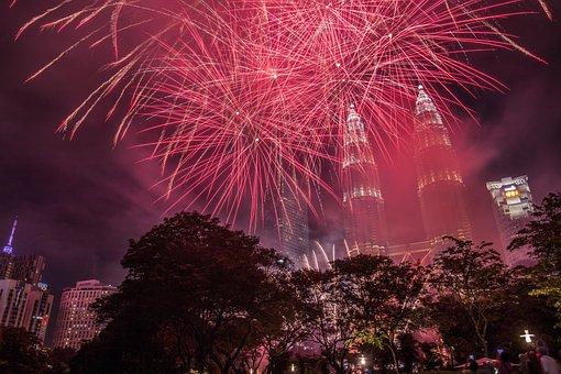 Fireworks, Festival, Celebration, Flame, Christmas