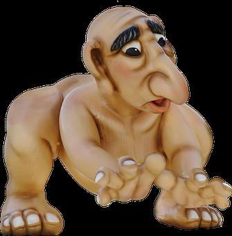 Figure, Isolated, Fantasy, Troll, Gnome, Fantasy Figure