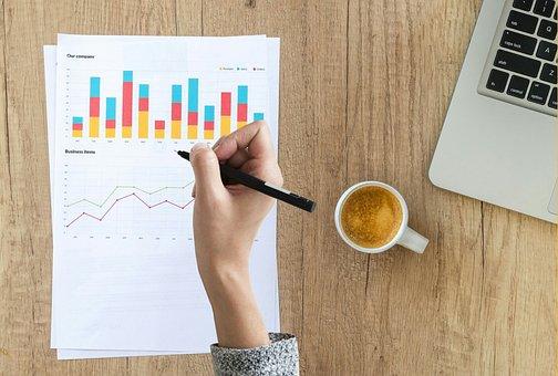 Audit, Chart, Graph, Hand, Writing, Finance, Financial