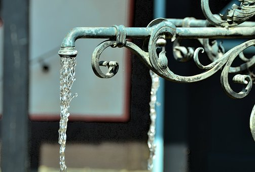 Fountain, Water, Flow, Well Water, Water Fountain