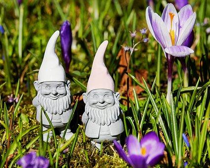 Imp, Spring Imp, Figure, Cute, Sweet, Dwarf