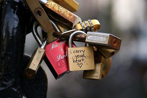 Locks, Love, Eternal Love, Proof Of Love, Bridge