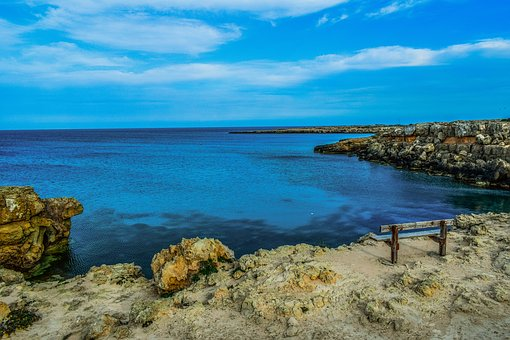 Cyprus, Cavo Greko, National Park, Landscape, Sea
