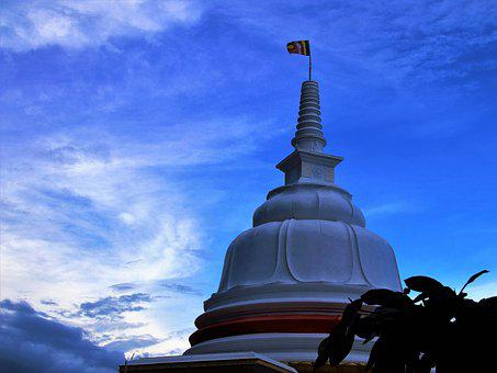 Sky, Architecture, Travel, Spirituality, Stupa, Temple