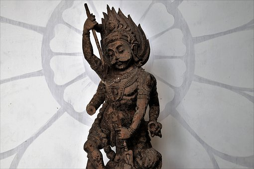 The Art Of, Sculpture, The Statue, Indian, Figure