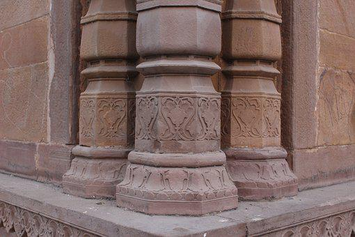 Architecture, Building, Stone, Tower, Column