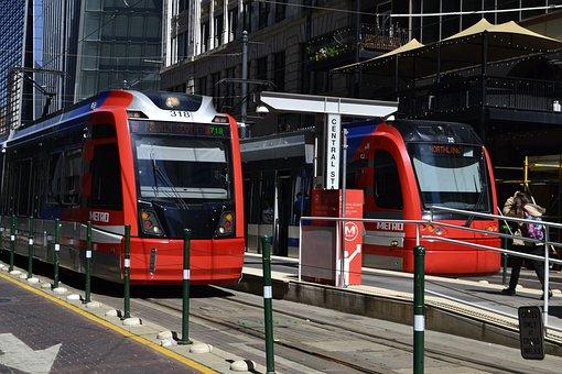 Metro, Houston, Texas, Transportation System, Train