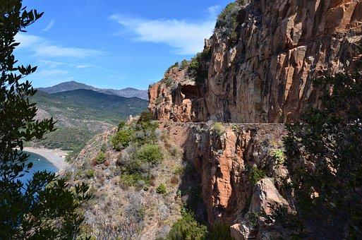Corsican, Nature, Landscape, Roche, Travel