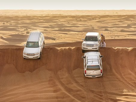 Sand, Desert, Travel, Adventure, Dry, Safari, Breakdown