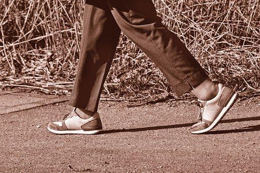 Leg, Foot, Shoe, Female, Person, People, Walking