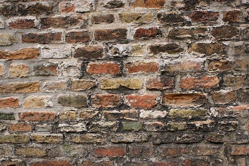 Wall, Brick, Stone, Cement, Pattern, Brickwork, Desktop