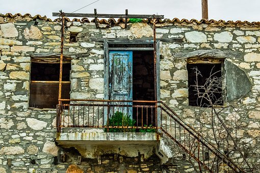 Old, House, Architecture, Wall, Stone, Abandoned
