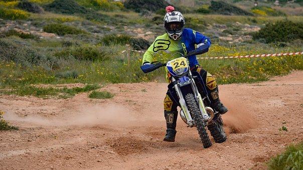 Motocross, Soil, Adventure, Hurry, Bike, Action, Sport